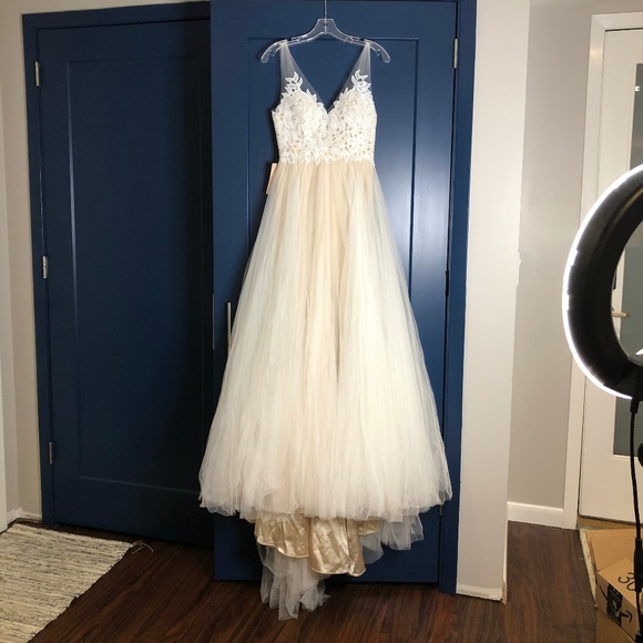 Watters Dresses & Skirts - Willowby by Watters Heritage Gown